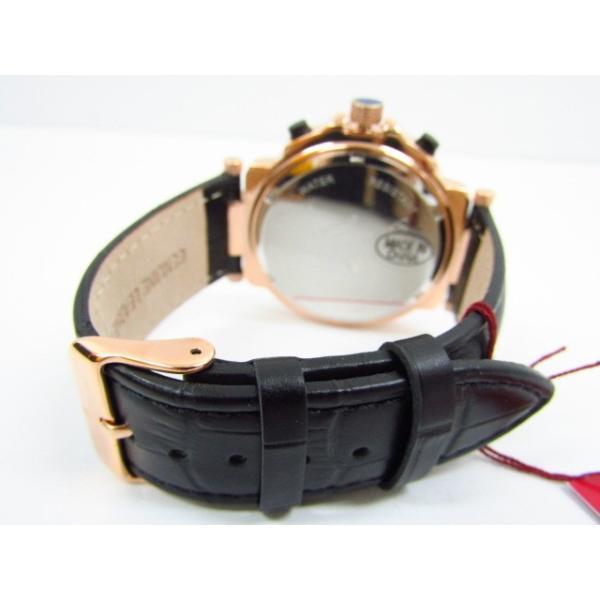 未使用 Salvatore Marra サルバトーレマーラ SM14118S-PGBK クロノグラフ クォーツ腕時計 レザーベルト thrift-webshop 04