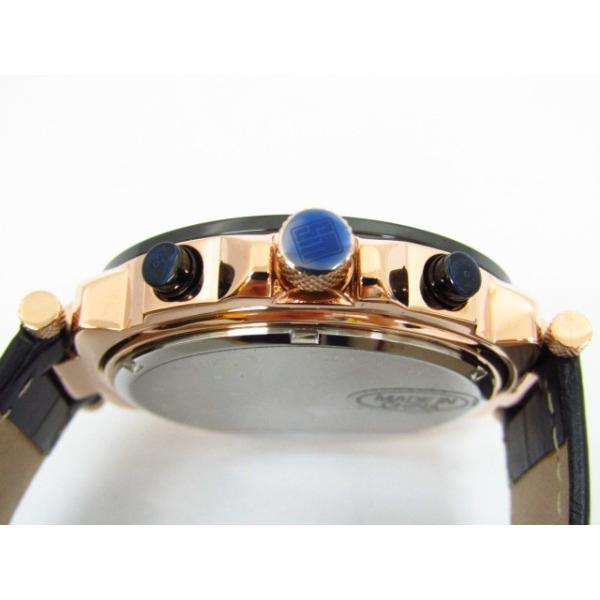 未使用 Salvatore Marra サルバトーレマーラ SM14118S-PGBK クロノグラフ クォーツ腕時計 レザーベルト thrift-webshop 05