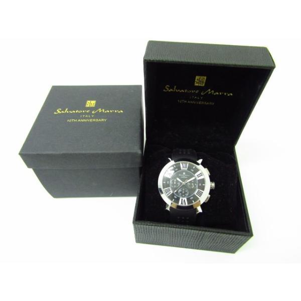 Salvatore Marra サルバトーレマーラ SM14102-1 クロノグラフ クォーツ腕時計 thrift-webshop