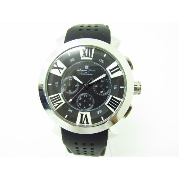Salvatore Marra サルバトーレマーラ SM14102-1 クロノグラフ クォーツ腕時計 thrift-webshop 02