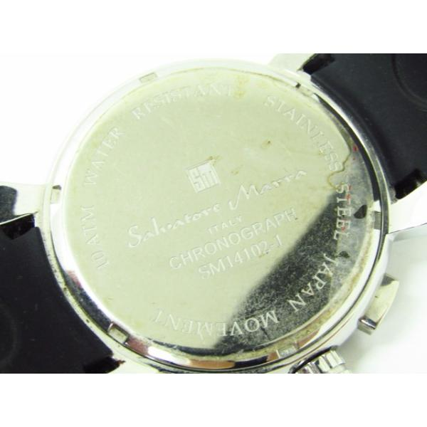 Salvatore Marra サルバトーレマーラ SM14102-1 クロノグラフ クォーツ腕時計 thrift-webshop 06