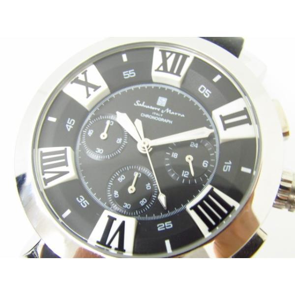 Salvatore Marra サルバトーレマーラ SM14102-1 クロノグラフ クォーツ腕時計 thrift-webshop 07