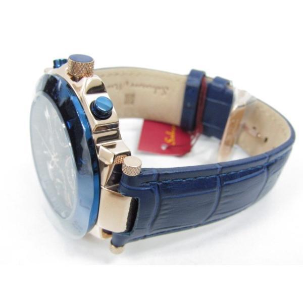 未使用 Salvatore Marra サルバトーレマーラ SM14118S-PGBL クロノグラフ クォーツ腕時計|thrift-webshop|03