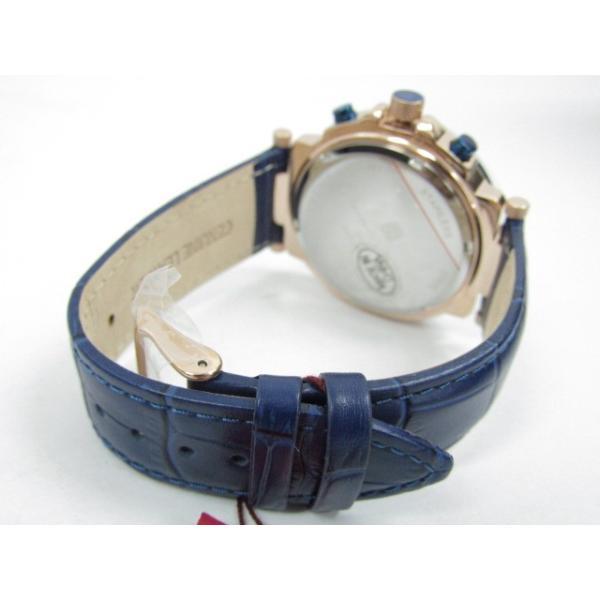 未使用 Salvatore Marra サルバトーレマーラ SM14118S-PGBL クロノグラフ クォーツ腕時計|thrift-webshop|04