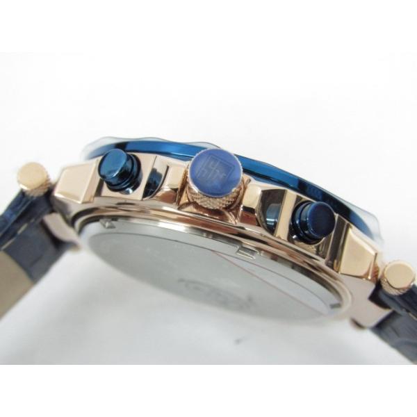 未使用 Salvatore Marra サルバトーレマーラ SM14118S-PGBL クロノグラフ クォーツ腕時計|thrift-webshop|05