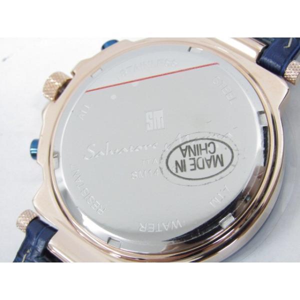 未使用 Salvatore Marra サルバトーレマーラ SM14118S-PGBL クロノグラフ クォーツ腕時計|thrift-webshop|07