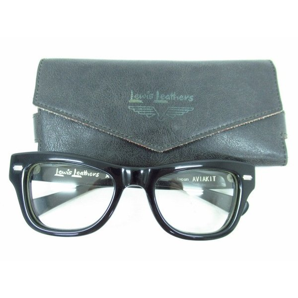 Lewis Leathers × EFFECTOR ルイス レザー × エフェクター めがね 伊達メガネ
