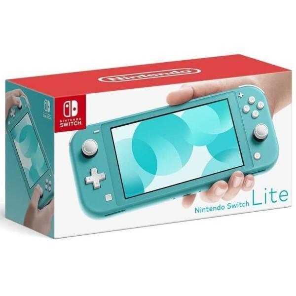 未使用品ニンテンドースイッチライト本体NintendoSwitchLiteターコイズ■U7424