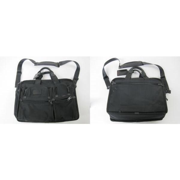 送料無料!《メンズカバン》TUMI 26141 DH ALPHA トゥミ エクスパンダブル・オーガナイザーブリーフ ケース 鞄【中古】|thrift-webshop