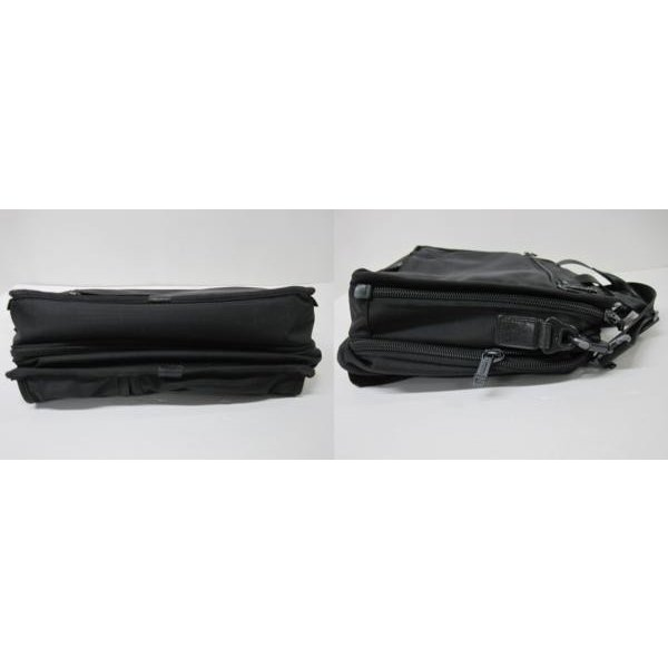 送料無料!《メンズカバン》TUMI 26141 DH ALPHA トゥミ エクスパンダブル・オーガナイザーブリーフ ケース 鞄【中古】|thrift-webshop|02