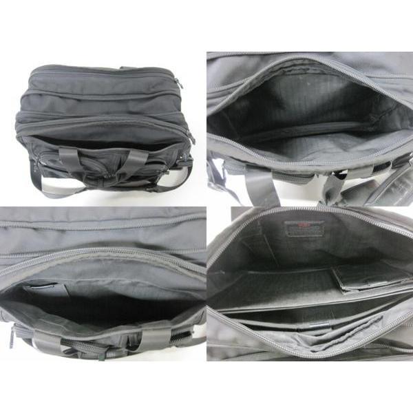 送料無料!《メンズカバン》TUMI 26141 DH ALPHA トゥミ エクスパンダブル・オーガナイザーブリーフ ケース 鞄【中古】|thrift-webshop|03