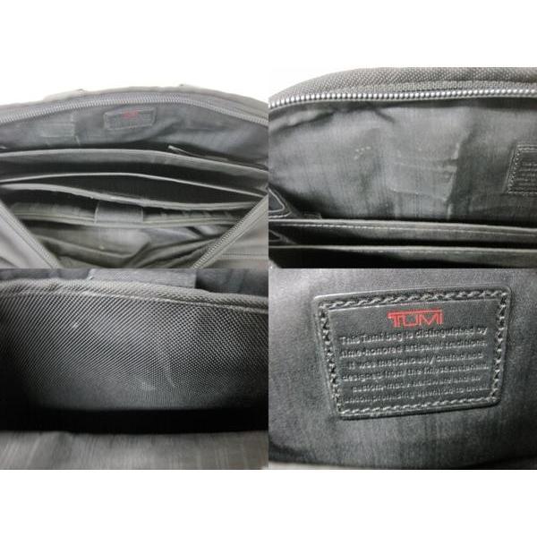 送料無料!《メンズカバン》TUMI 26141 DH ALPHA トゥミ エクスパンダブル・オーガナイザーブリーフ ケース 鞄【中古】|thrift-webshop|04