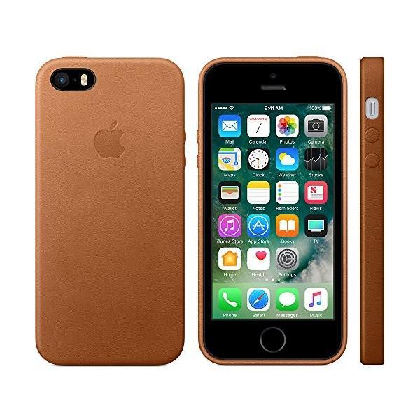 2a811ab916 ... Apple(アップル) 純正 iPhone SE / 5s / 5用 レザーケース (サドル
