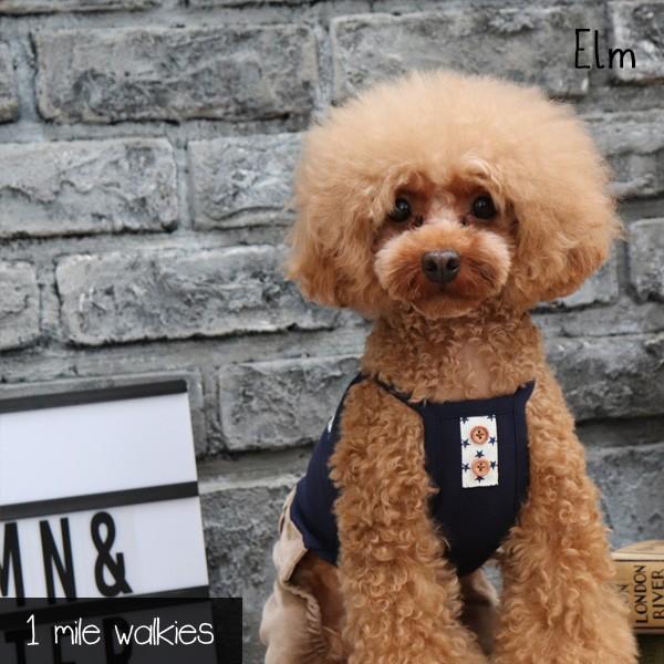 ワンマイルウォーキーズ 1 mile walkies エルム Elm Corduroy All in One 小型犬 犬服 ウエア ロンパース カバーオール つなぎ パンツ カジュアル|tiarapetsjapan|03