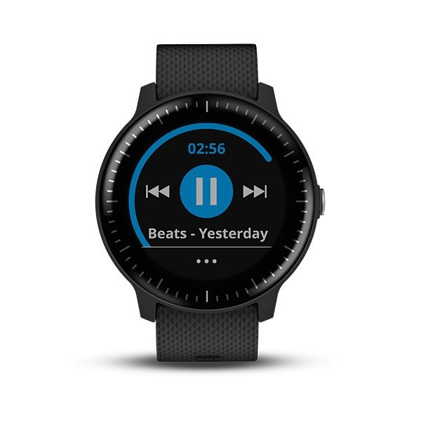 GARMIN ガーミン vivoactive3 Music Black  GPSスマートウォッチ 010-01985-23|tictac|02
