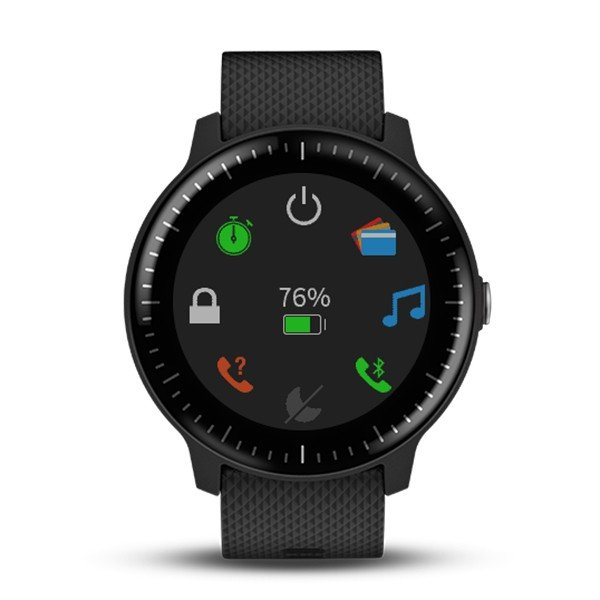 GARMIN ガーミン vivoactive3 Music Black  GPSスマートウォッチ 010-01985-23|tictac|03