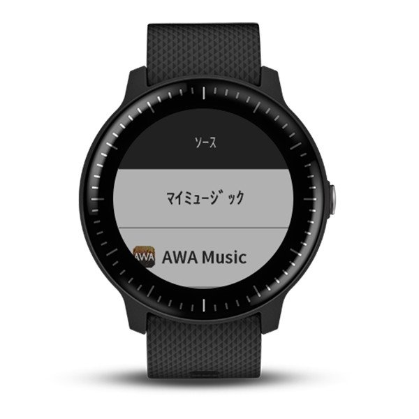 GARMIN ガーミン vivoactive3 Music Black  GPSスマートウォッチ 010-01985-23|tictac|04