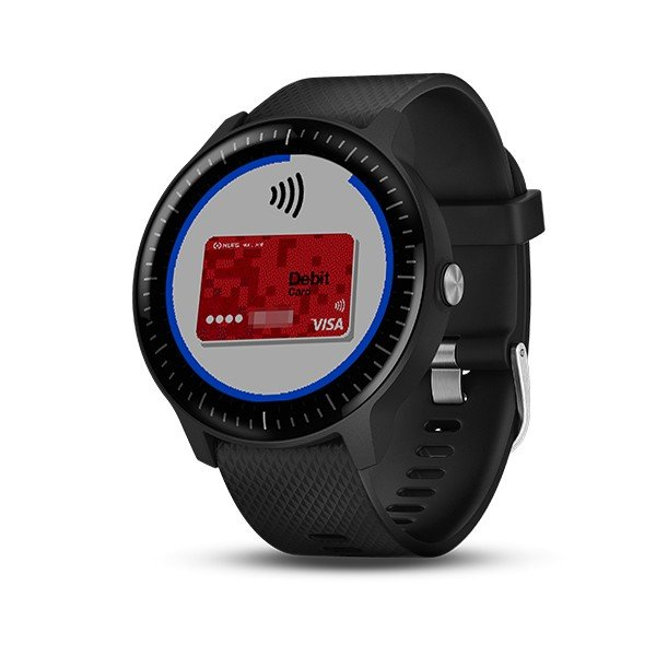 GARMIN ガーミン vivoactive3 Music Black  GPSスマートウォッチ 010-01985-23|tictac|05