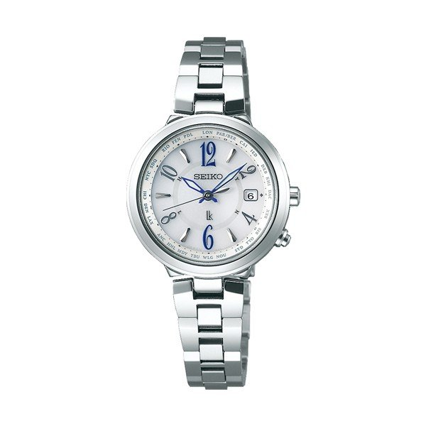 LUKIA ルキア SEIKO セイコー ラッキーパスポート 電波ソーラー 国内正規品 腕時計 レディース  SSVV033