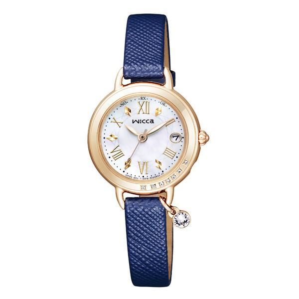 wicca ウィッカ ソーラーテック ブレスライン HAPPY DIARY  国内正規品 腕時計 レディース  KL0-821-10