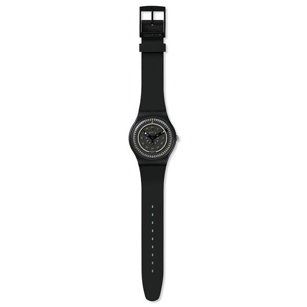 SWATCH スウォッチ ニュージェント  piu nero ピュー・ネロ 腕時計 SUOB157