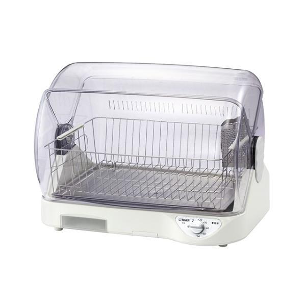 食器乾燥器 DHG-S400W ショッピング ホワイト タイガー 超特価SALE開催 抗菌加工 温風式 サラピッカ