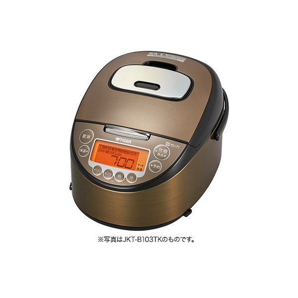 デポー 炊飯器ごはん 送料無料/新品 1升 炊き ダークブラウン JKT-B183TK タイガー魔法瓶