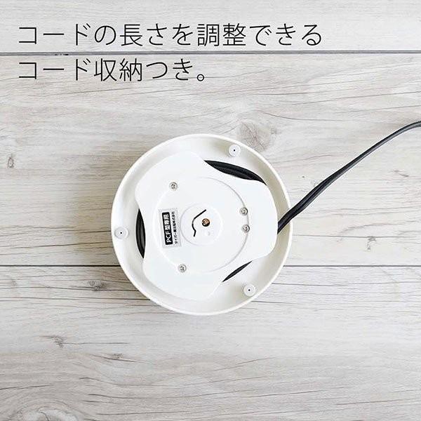 電気ケトル おしゃれ 安全安心 0.8L タイガー魔法瓶 PCF-G080W ホワイト  わく子 早い 一人暮らし 新生活 tigergrandx 08
