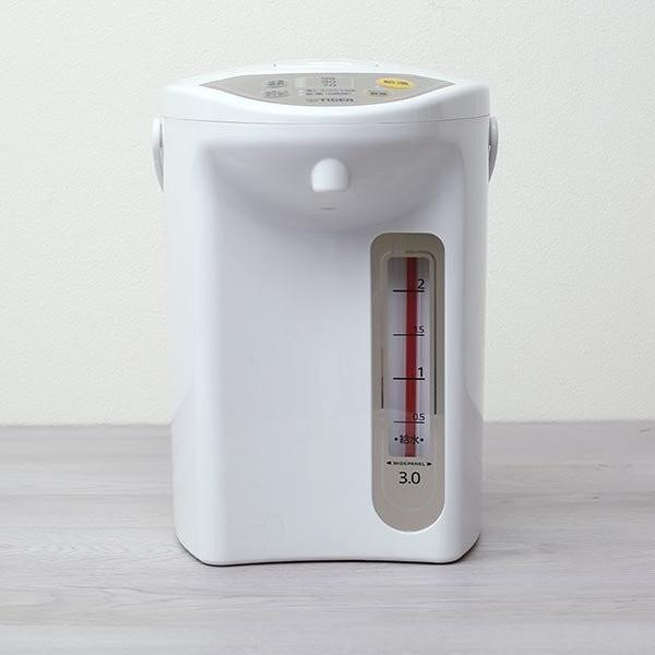電気ポット3.0L タイガー魔法瓶 PDR-G300WU アーバンホワイト 節電 省スチーム|tigergrandx|03