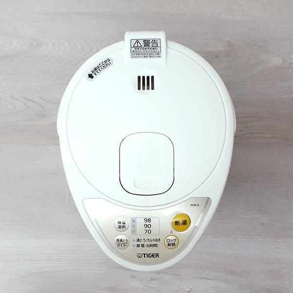 電気ポット3.0L タイガー魔法瓶 PDR-G300WU アーバンホワイト 節電 省スチーム|tigergrandx|07