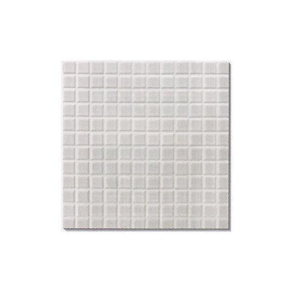 モザイクタイル シート販売。アート25角 白。ミックスデザインタイル対応、おしゃれなアンティーク、レトロモダン風。キッチン・玄関・テーブル・浴室(風呂)