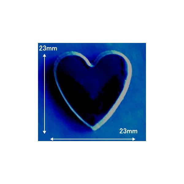 モザイクタイル シート 15角 ハート 磁器質 黒。ミックスデザインタイル対応、おしゃれなアンティーク、レトロモダン風。キッチン・玄関・テーブル・浴室(風呂