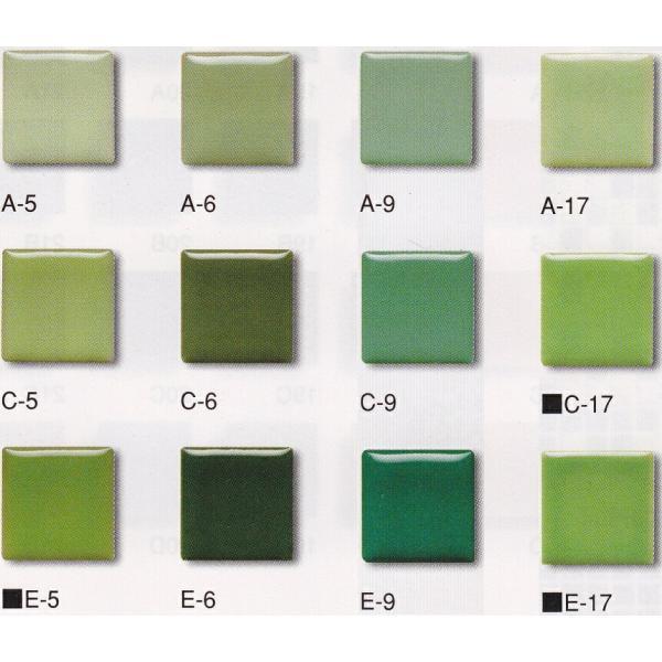 モザイクタイル シート販売。アート25角 緑。ミックスデザインタイル対応、おしゃれなアンティーク、レトロモダン風。キッチン・玄関・テーブル・浴室(風呂)