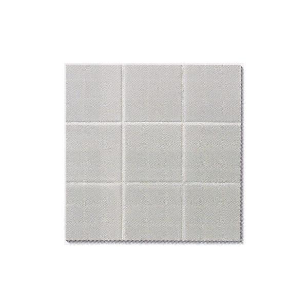 白 100角 モザイクタイル シート販売。 磁器質 デザインタイル対応、おしゃれなアンティーク・レトロモダン風。リビング・玄関・テーブル等のDIYリフォーム