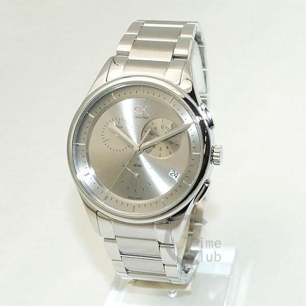 Calvin Klein CK (カルバンクライン) 時計 腕時計 K2A27126  ブレス シルバー メンズ ウォッチ クォーツ|timeclub