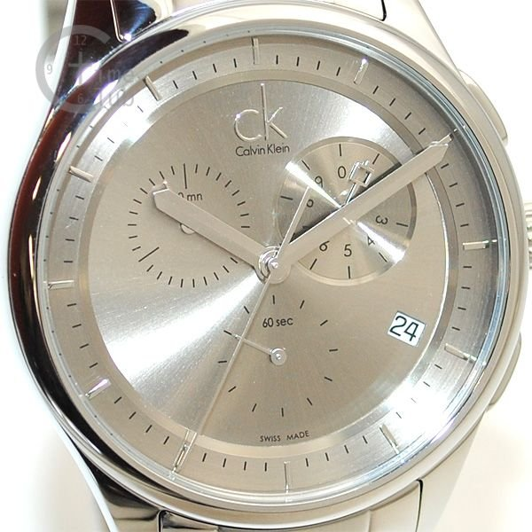 Calvin Klein CK (カルバンクライン) 時計 腕時計 K2A27126  ブレス シルバー メンズ ウォッチ クォーツ|timeclub|02