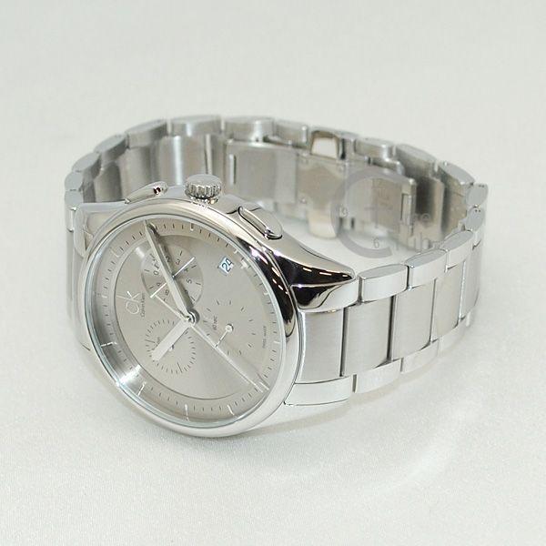 Calvin Klein CK (カルバンクライン) 時計 腕時計 K2A27126  ブレス シルバー メンズ ウォッチ クォーツ|timeclub|03