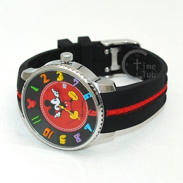 MICKY MOUSE (ミッキーマウス) 時計 腕時計 ウォッチ&フィギュア プレミアムセット DISNEY ディズニー