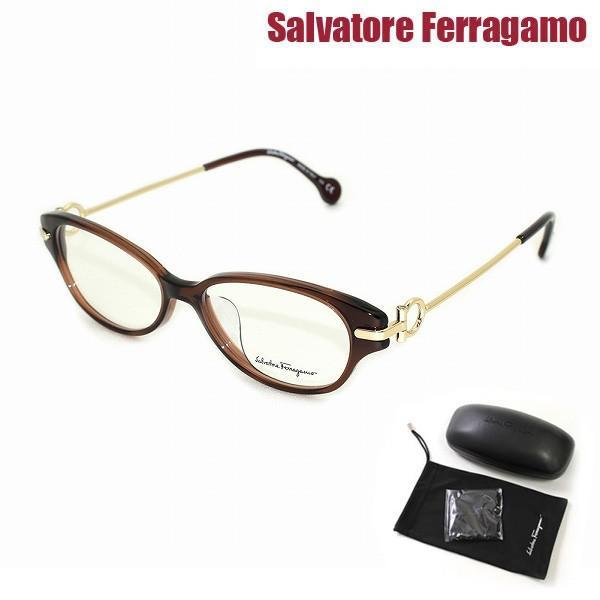 国内正規品 サルヴァトーレ フェラガモ SF2832A-210 メガネ フレームのみ 眼鏡 アジアンフィット Salvatore Ferragamo