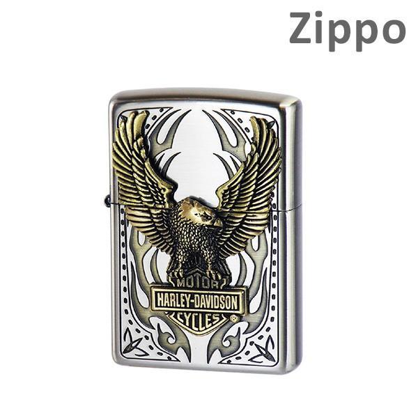 Zippo ライター ジッポー HDP-73 HARLEY-DAVIDSON ビッグメタル ZIPPO ジッポ 【送料無料(※北海道・沖縄は注文不可)】