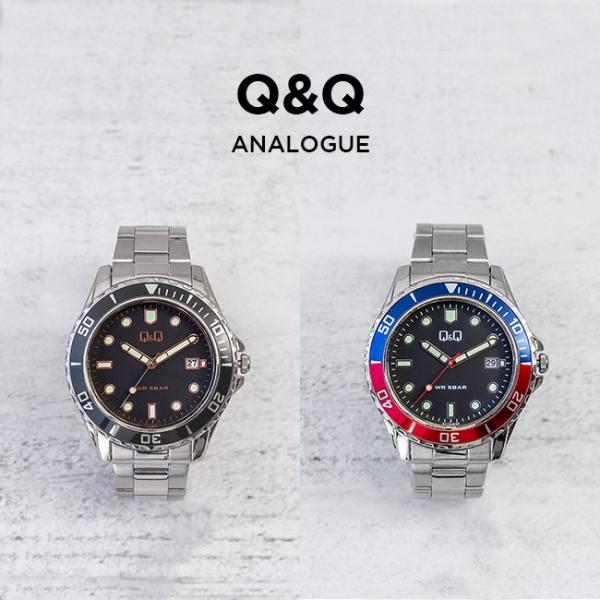 送料無料 シチズン Q&Q アナログ メンズ 腕時計 レディース キッズ 子供 男の子 女の子 逆輸入 チープシチズン チプシチ ブラック 黒 シルバー|timelovers