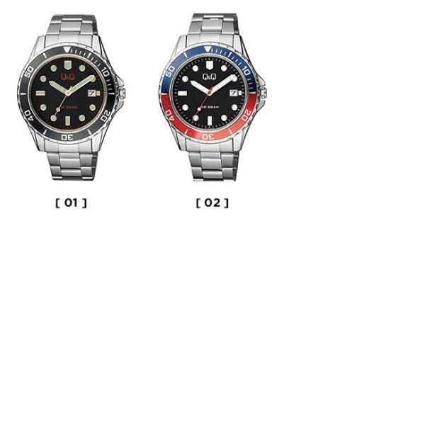 送料無料 シチズン Q&Q アナログ メンズ 腕時計 レディース キッズ 子供 男の子 女の子 逆輸入 チープシチズン チプシチ ブラック 黒 シルバー|timelovers|02