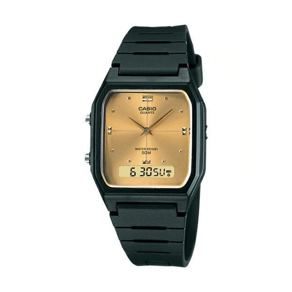 【10年保証】CASIO STANDARD ANA-DIGI カシオ スタンダード アナデジ AW-48HE-9A 腕時計 メンズ レディース キッズ 子供 男の子 女の子 チープカシオ チプカシ