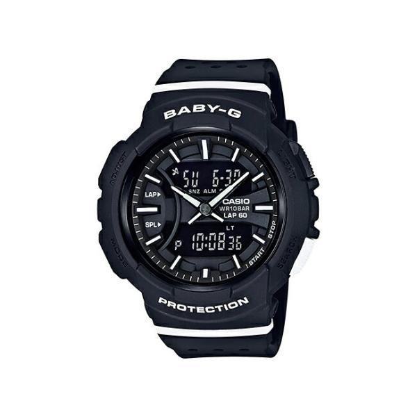 【10年保証】CASIO BABY-G FOR RUNNING カシオ ベビーG フォー ランニング BGA-240-1A1 腕時計 レディース キッズ 子供 女の子 ベビージー ランニングウォッチ