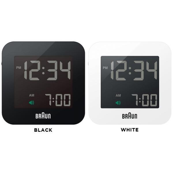 <title>BRAUN ブラウン デジタル 日本製 アラーム クロック BNC008 時計 ブラック 黒 ホワイト 白 置き時計 目覚まし時計 トラベル 旅行 BNC008BK BNC008WH</title>