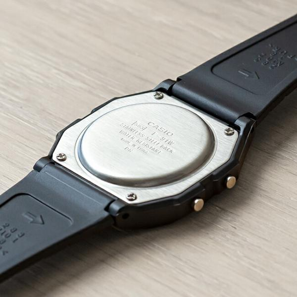 【10年保証】CASIO STANDARD DIGITAL カシオ スタンダード デジタル F-91W-1 腕時計 メンズ レディース キッズ 子供 男の子 女の子 チープカシオ チプカシ プチ