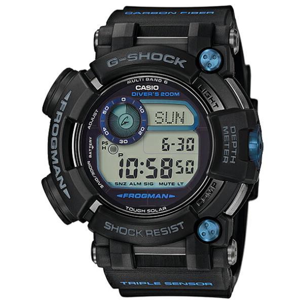 【並行輸入品】【10年保証】CASIO G-SHOCK カシオ Gショック フロッグマン GWF-D1000B-1 腕時計 メンズ キッズ 子供 男の子 デジタル 電波 ソーラー ソーラー電|timelovers