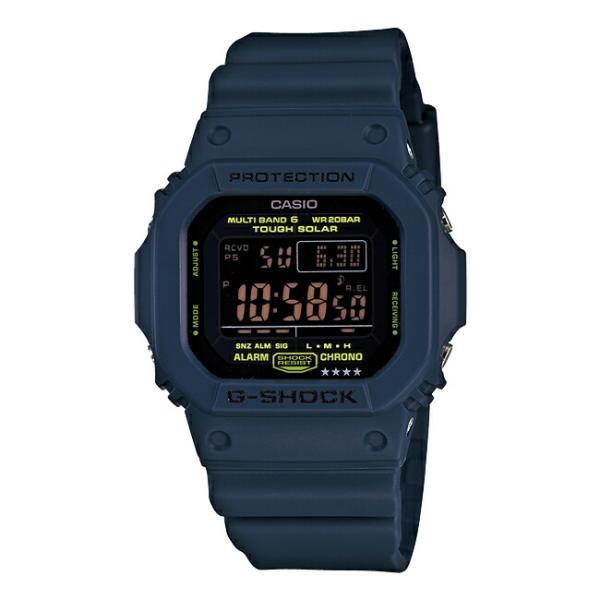 送料無料 CASIO G-SHOCK カシオ Gショック GW-M5610NV-2JF 腕時計 メンズ キッズ 子供 男の子 デジタル 電波 ソーラー ソーラー電波時計 防水 ネイビー ブラック|timelovers