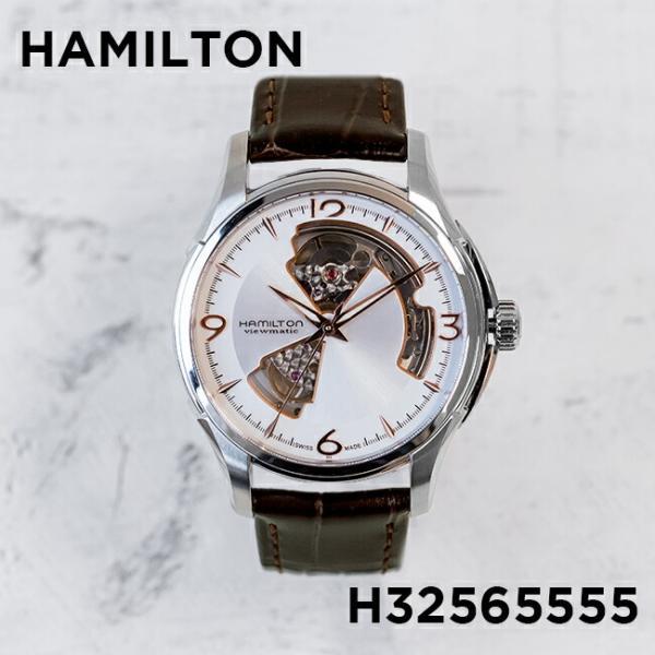 059e7f0043 【並行輸入品】HAMILTON ハミルトン ジャズマスター オープン ハート オート 40MM H32565555 腕時計 メンズ ...