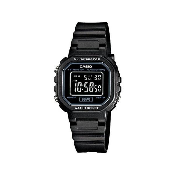 【10年保証】CASIO STANDARD DIGITAL LADYS カシオ スタンダード デジタル レディース LA-20WH-1B 腕時計 キッズ 子供 女の子 チープカシオ チプカシ プチプラ